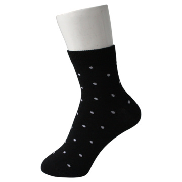Black Dots Kid's Socks