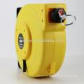 automatic rewinding barrier reel