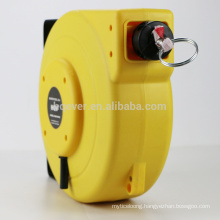 automatic rewinding barrier reel