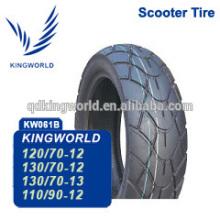 Colombie du marché des pneus tubeless 120/70-12 pour 100-150cc scooter