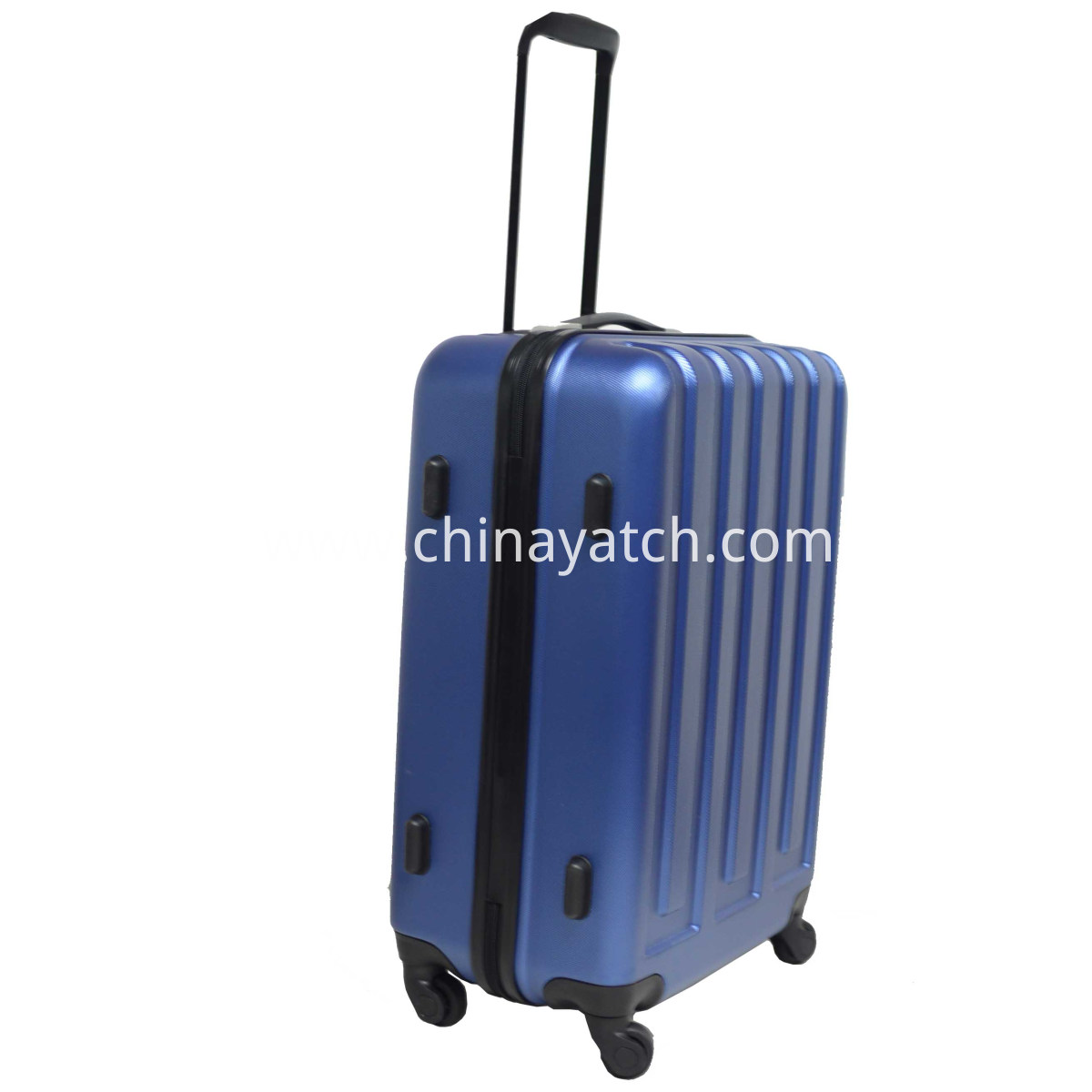 alloy luggage side view