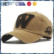 New and hot long lasting baseball caps / hat custom wholesale