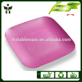 colorful dinner plate high quality biodegradable dish wholesale