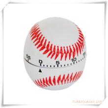 Temporizador em forma de beisebol para promoção / brinde promocional