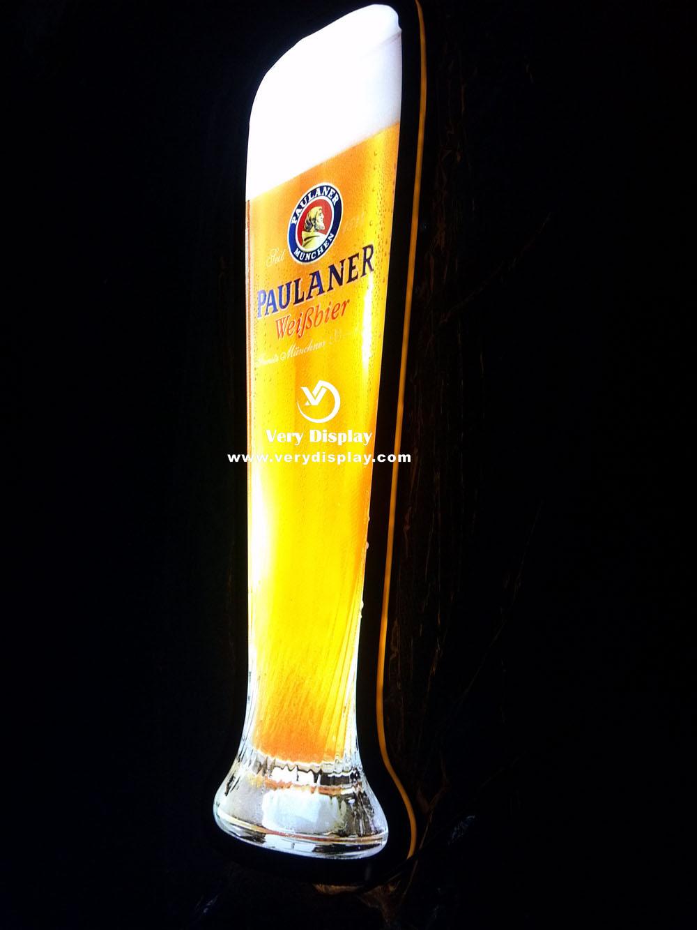 paulaner led glass