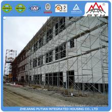 Structure en acier préfabriquée modulaire de haute qualité unités hôtelières construction de maisons à vendre