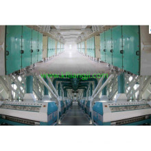 Fábrica de moagem de farinha de trigo e máquina de moinho de farinha de milho