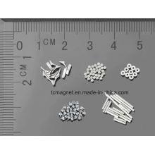 Micro imanes utilizados en aparatos e instrumentos médicos
