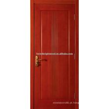 Terminou as portas interiores de madeira de MDF barato esculpida com núcleo oco