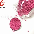 Granule en plastique rose Masterbatch