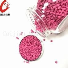 Plástico Pink Masterbatch Granule