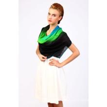 Scarf Manufacturer Silk Wool Blend Shawl