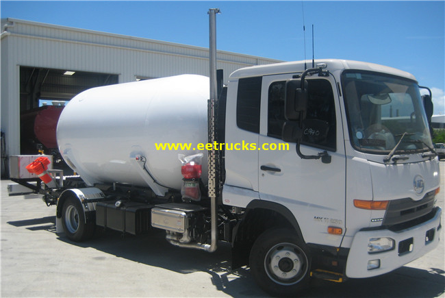 Propane Delivery Tankers