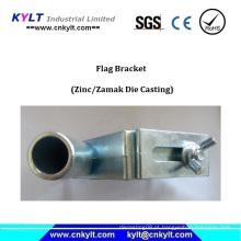 Suporte de mastro de estabilizador de braçadeira de zinco