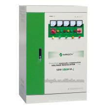 Regulador / estabilizador de voltaje de la CA de la energía de la serie de tres fases de SBW-150k de encargo
