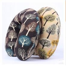 Velvet Digital Printing U Shape Memory Foam Neck Pillow for Nap and Travel