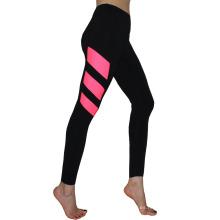 Las muchachas de la manera al por mayor el mejor material respirable aptitud mujeres deporte yoga leggings impresos