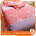 Tecido impresso 100% poliéster de alta qualidade da China para lençóis