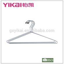 Éclairage en gros et suspension de chemise en métal chromé antirouille