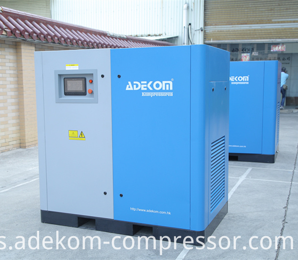 Oil rotary air compressor