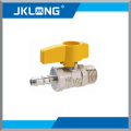 3/4 ball valve brass Gas ball valve brass ball valve with nipple with high quality