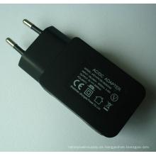 Adaptador de cargador USB de 1 puerto 5V2000mA