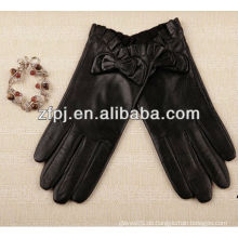Slim-fitting dünne Damen Leder Handschuhe Größe 9 für Dame
