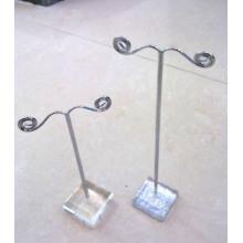 Акриловые белые с металлическим серебром Дисплей для дерева (A9)