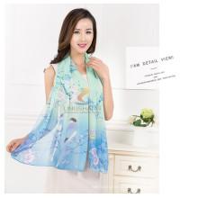 Art und Weise neuer Ankunftsfrühlings- und -sommer-silk magischer Chiffon- gedruckter Schal und Schal-Großhandelsschal hijab, das hijab trägt