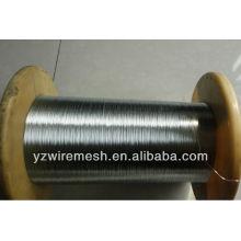 0.24mm 0.25mm alambre galvanizado sumergido caliente para el cable