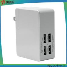 4 Multi Portas Carregadores de Parede de Viagem USB para Todos os Telemóveis