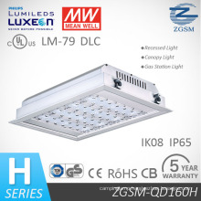 Ce CB Certificated 160W Philips Chips LED Gas Station Light