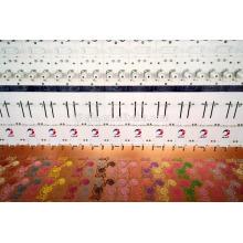 68 головок плоская машина вышивки