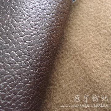 Кожа PU Ткань дышит искусственной кожи для дивана