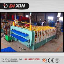 A maioria de rolo popular da dupla camada do telhado do metal que forma a máquina