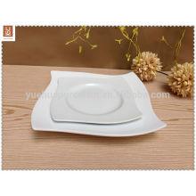 wholesale square ceramic dinner plate set