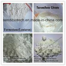 Formestan stéroïde Lentaron CAS 566-48-3 stéroïde d'oestrogène de poudre cristalline blanche