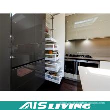 Muebles modernos de los gabinetes de cocina del MDF ULTRAVIOLETA (AIS-K300)