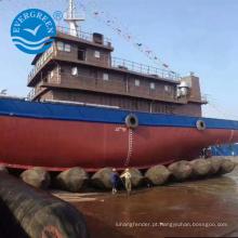 Airbag marinho do uso a longo prazo para o lançamento de salvamento de levantamento do navio