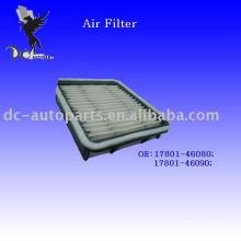 Filtro de aire de unidad de manipulación de aire no tejida Lexus