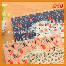 professional country style floral pattern design custom notepads memo pads for kids