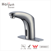 Haijun 2017 China Wholesale Thermostatic Lavatory Basin Automatic Sensor Mixer Faucet