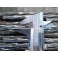 Barras de acero retorcidas de refuerzo
