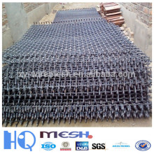Black Wire Crimped Iron Mesh for Construction