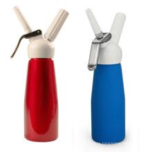 Fancy Design Whole Aluminium Schlagsahne Dispenser mit Kunststoffspitzen 1 Pint