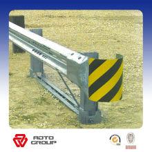 barandilla de acero galvanizado de la carretera