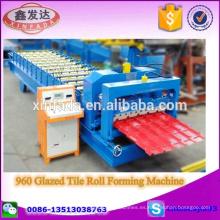 960 esmaltado de azulejos rollo de formación de la máquina Paso de azulejos que hace la máquina