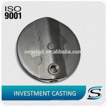 piezas de fundición de inversión de vidrio de agua de acero de carbono personalizado