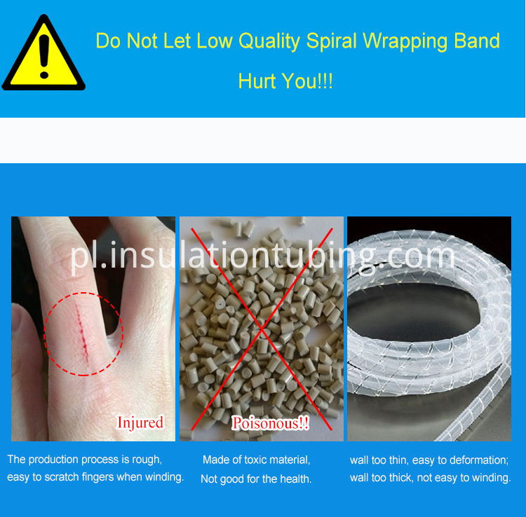 Electrical Wire Spiral Wrapping Bands