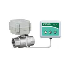 Válvula protegida contra fugas de agua motorizada (T20-S2-A)